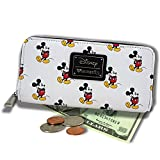 Loungefly Mickey Mouse All Over Print Wallet Standard, White
