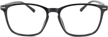 4bb6643909 EyeBuyExpress Prescription Mens Womens Black Retro Style Reading Glasses  Anti Glare Quality +0.25
