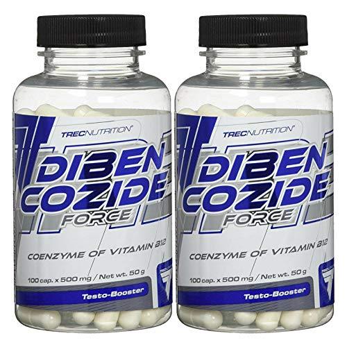 Dibencozide Force | Aumento de peso | Vitamina B12 | Pastillas anabólicas | Potenciador del apetito | Complemento alimenticio | Aumento de peso corporal (200 Capsules - 2 Bottles)
