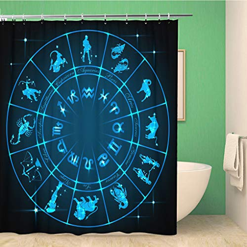 Awowee Decor douchegordijn de droom is gratis maar hustle verkocht apart Vintage 152x180cm polyester stof waterdichte badgordijnen Set met haken voor badkamer