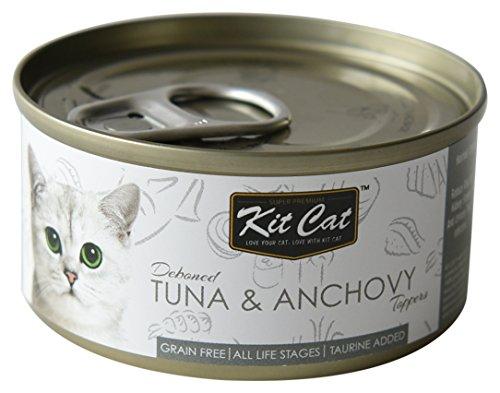 キットキャット (KitCat) キャットフード トッパーズ ツナ&アンチョビ 80g×24缶