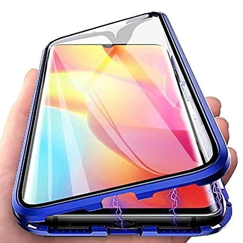 COVERBAZAR - Carcasa Xiaomi Redmi Note 10 4G (no 5G), cristal templado completo pantalla magnética, metal 360 ° Full Body Carcasa Xiaomi Redmi Note 10 4G (no 5G)