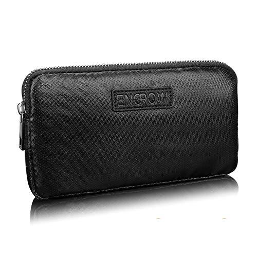 Festplattentaschen Feuerfest Powerbank Tasche Universal Reise Hülle Kompatibel mit 7 20.000mAh Anker Astro E1 5200mAh Battery Tasche für Ladegeräte,USB-Kabel,Kopfhörer Externer Akku