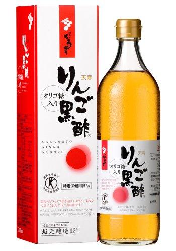 4位 坂元醸造『天寿りんご黒酢』
