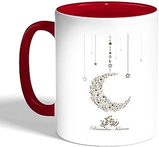 Ramadan kareem Printed Coffee Mug, Red Color