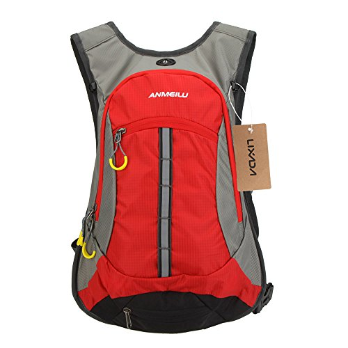 Lixada Waterresistant Shoulder Outdoor Cycling Bike Riding Backpack Mountain Bicycle Travel Hiking Camping Running Water Bag