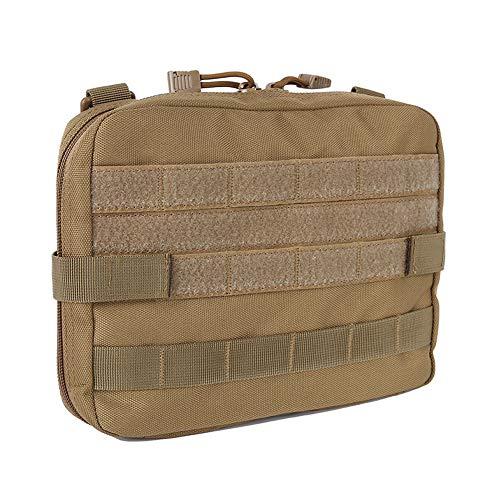MOLLE-Tasche, Taktische Molle-Ifak EMT-Allzwecktasche, Erste-Hilfe-Tasche für Wandern, Reiten, Camping, 2