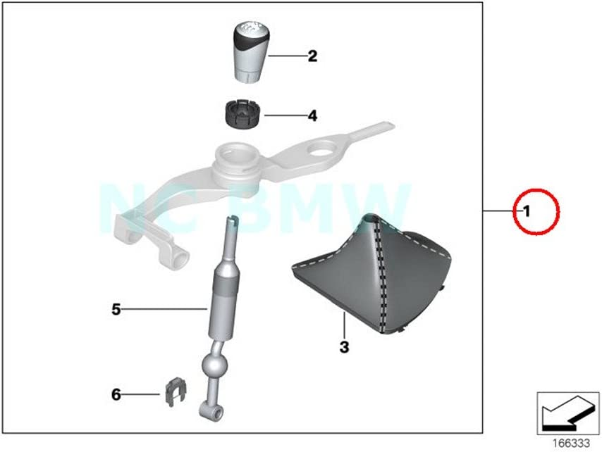 BMW Genuine Installing Set Lever Kinematic 100% quality warranty Today's only Gear