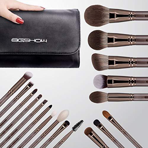 Eigshow Make-up-Pinsel-Set, professionelles Make-up-Pinsel-Set, synthetische Kosmetik, Grundierung, Puder, Concealer, Blending Lidschatten, Gesicht, Kabuki-Make-up-Pinsel