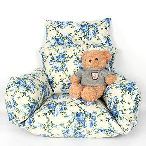 MEVIDA hangende eihangmat afzonderlijke mand stoel kussen, grote dikke schommelstoel kussen katoen bekleed nest hangstoel kussen