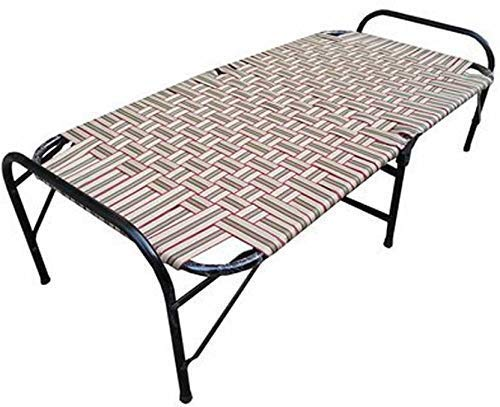 "PARVESH Smart Niwar Folding Bed Red Size (36""x72"")"