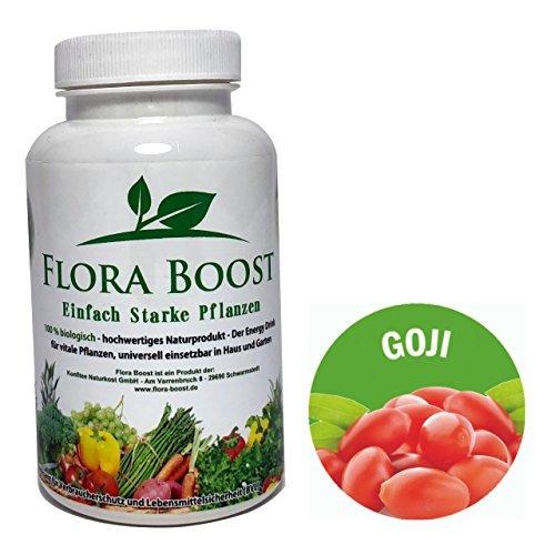 Goji Baies plantes Engrais pour plantes jusqu'à 500 l d'eau d'arrosage – Flora Boost – Plus de Goji Baies – kräftigere – Contre mildiou