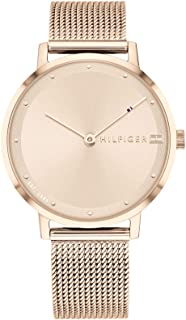 Tommy Hilfiger Womens Quartz Watch, Analog Display and Stainless Steel Strap 1782150