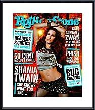 Barewalls Rolling Stone Cover of Shania Twain/Rolling Stone Magazine Vol. 915, February 6, 2003, Art Print by Michael Thompson
