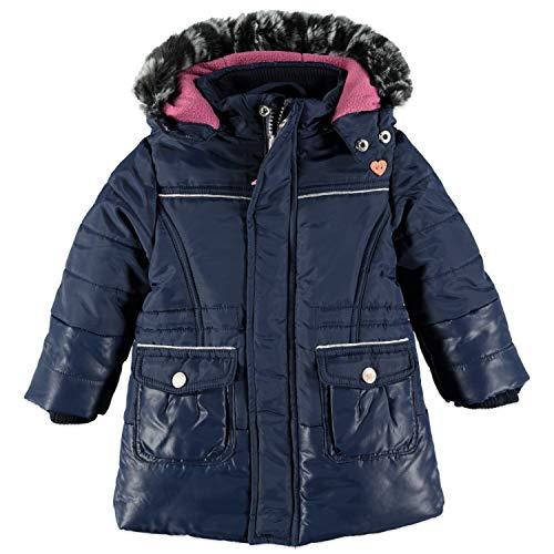 Babyface Mädchen Winterjacke mit Kapuze in dunkelblau Größe 104