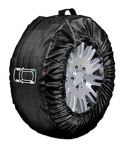 Lampa 15941 Tyre-Wrap Deluxe Set 4 Copriruota in Cordura, Other, Set di 4