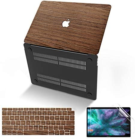 Anban MacBook Air 13 Inch Case 2020 2019 2018 Release A2337 M1 A2179 A1932 Wood Hard Corner product image
