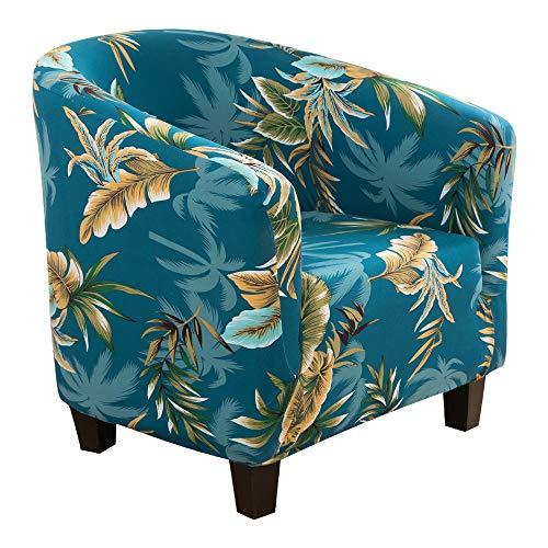 papasgix Sesselschoner Sesselbezug Stretch Sesselüberwurf Sesselhusse Elastisch Sofabezug Couch Überwurf Überzug für Cafe Loungesessel Cocktailsessel