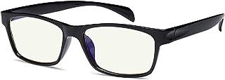 Blue Light Blocking Glasses Computer Reading Glasses for Women and Men Gaming Glasses for Eye Protection Anti Glare UV Digital Eyestrain