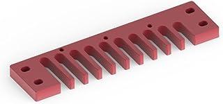 Vbestlife Pieza de Peine de armónica, Pieza de armónica de Peine de aleación de Aluminio para Hohner Marine Band Crossover/Deluxe