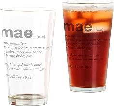 CafePress MAE Pint Glass, 16 oz. Drinking Glass