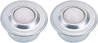 uxcell Ball Transfers Bearing Unit CY-15H 5/8 inches Diameter, Drop-in, Nylon Ball, 55lbs Load Capacity 2pcs