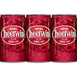 Cheerwine Soft Drink Cherry Soda Pop 6 pack cans 7.5oz