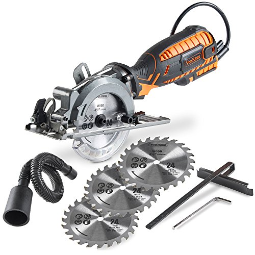 Vonhaus Compact Circular Saw with Dust Collection