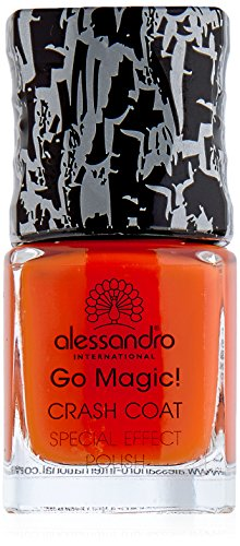 alessandro Go Magic Crash Coat orange Effektlack, 1er Pack (1 x 10 ml)