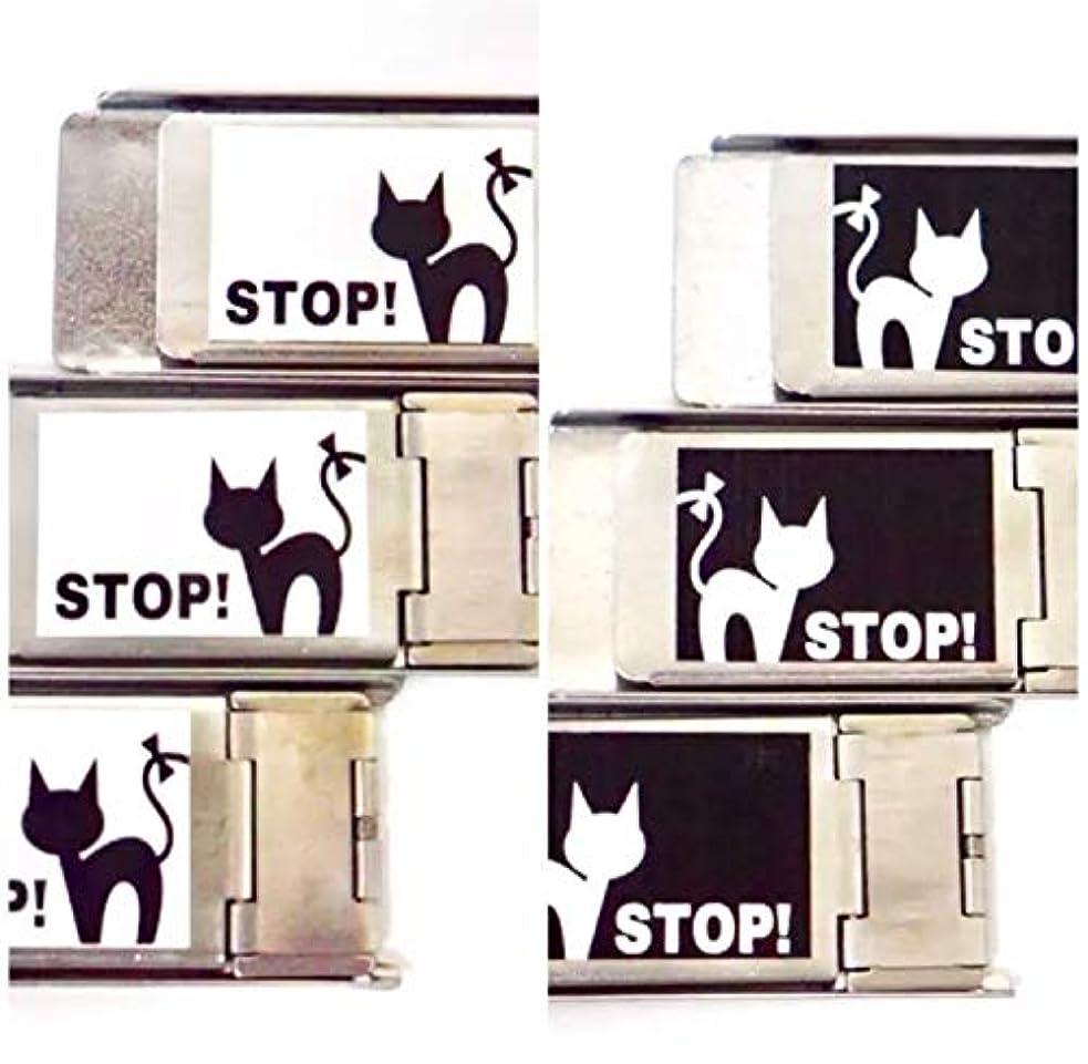 おもちゃ解説月網戸ロック 3個セット にゃんにゃんストッパー 猫 脱走 防止 補助錠 (選べるオーダー注文)