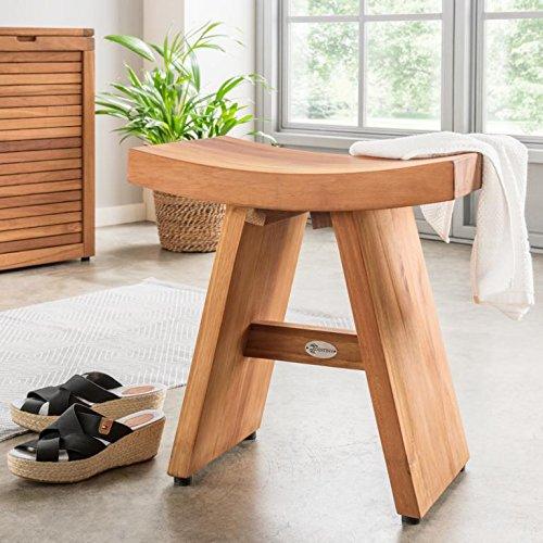 Destiny Tisch Teak Teaktisch Asia Design Beistelltisch Badezimmer Hocker (72014)