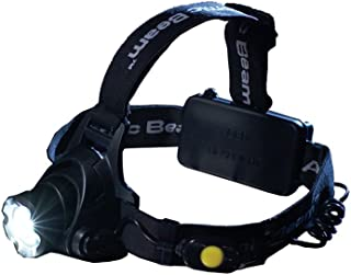 Atomic Beam Headlight Original by BulbHead, Adjustable LED Head Lamp, Must Have for Camping Gear, Hiking, Backpacking - Even Use As a Reading Light (1 Pack)
