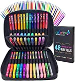 ColorIt Gel Pens For Adult Coloring Books – Premium Ink Gel...
