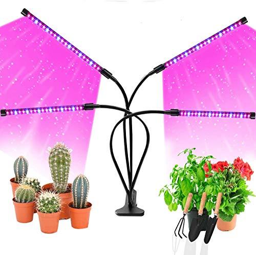 ARESAT Grow Light for Indoor Plants, Upgraded 80 LEDs Full Spectrum 10...