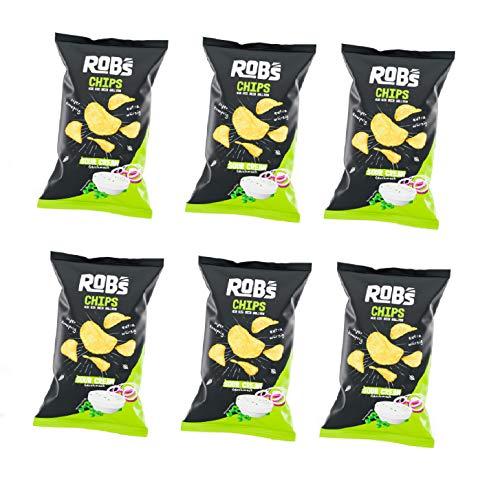 ROB'S CHIPS Originals Kartoffelchips WIE SIE SEIN SOLLTEN 6x 120g