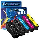 Cartucho XL Serie Platinum® TE3351-TE3364; compatible para Epson 33XL Expression Premium XP-630 Series XP-635 XP-830, color (1) Farbset 5 Patronen