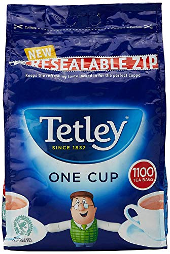 Tetley Catering 1Cup Theezakje Pack van 1100