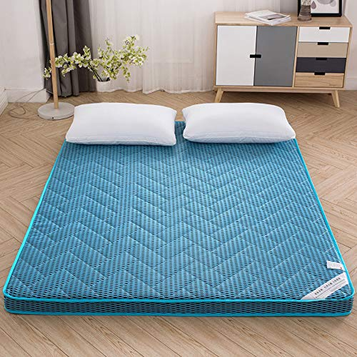 smzzz Home Decoration Accessories Memory Foam Mattresses Topper Blue 4D Solid Bamboo Charcoal Bedding 6CM Comfortable Breathable Mattress