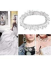 Vit Rhinestone Trim, vackra plaggetillbehör , Rhinestone Chain, möbler kläder huvudbonader för klänningar för bröllopsklänningar skor