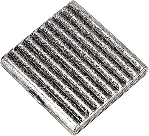 JJYGONG Caja de Cigarrillos Metal Puede Contener 20. Regalo de Negocio Ideal Ligero