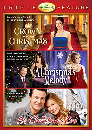 Hallmark 3-Movie Collection: Crown for Christmas / A Christmas Melody / It's Christmas, Eve