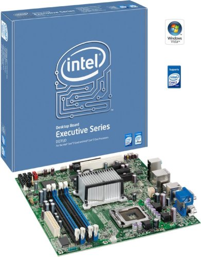 Intel DQ35JOE Executive Series Q35 Desktop Board, uATX DDR2 800, vPro,...