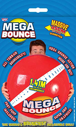 Wicked Mega Bounce Junior aufblasbarer Hüpfball