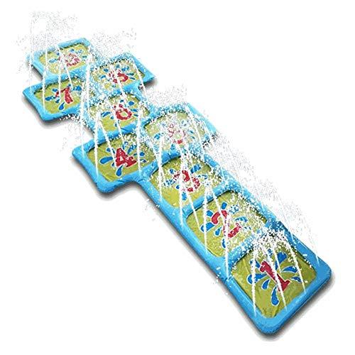 噴水シャワー プレイマット 幼児水遊び プール噴水 子供用 数字 水遊び おもちゃ シャワー アウトドア 芝生 庭 可愛い噴水マット 夏の日 キッズ プレゼント