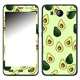 Disagu SF-106606_1122 Design Folie für Phicomm Clue L - Motiv Avocados Muster grün