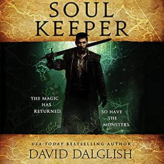 Soulkeeper audiobook cover art