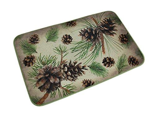 pine cone kitchen rugs - 6