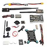 QWinOut PIXHAWK2.4.8 PX4 High-End Unmanned Aerial Vehicle by Driving Set of Flight Control M8N GPS Digital OSD for FPV Drone Quadcopter (915 500MW)