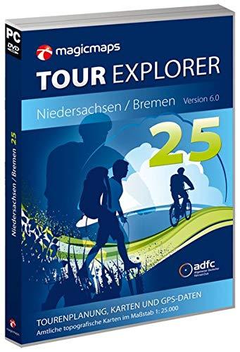 MagicMaps Routenplanungsoftware DVD Tour Explorer 25 Ni/Hb V6.0 Niedersachsen/Bremen, FA003560026