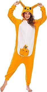HUTUTU Animal onesie jumpsuit voor dames, pyjama, hoodie, cosplay pyjama's, dierenoutfit